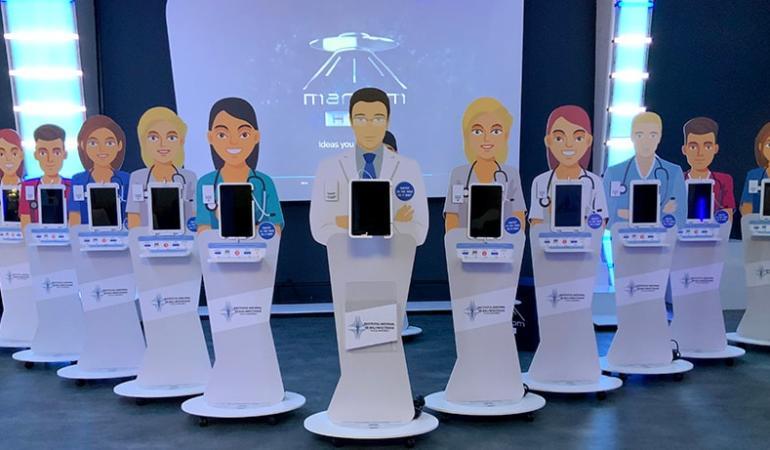 """Avataruri medicale în spitalele românești. Cum arată """"infirmierele"""" virtuale"""