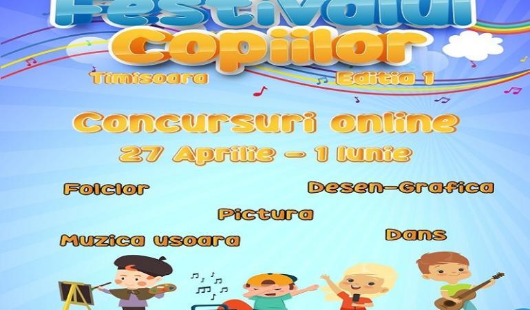Miercuri, 20 mai – ultima zi de înscriere la Festivalul Copiilor