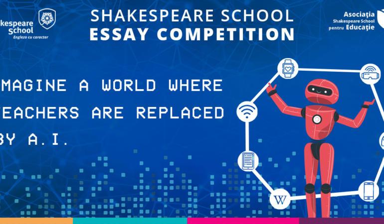 Peste 3000 de participanți și 20 de câștigători la Shakespeare School Essay Competition 2020