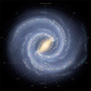 Calea Lactee este o spirală cu patru braţe – Cea mai clară imagine a galaxiei noastre