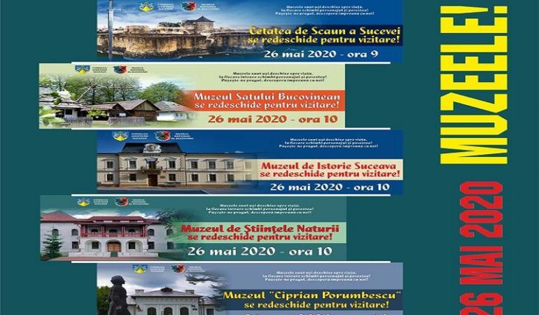 Muzeul Național al Bucovinei vă așteaptă din 26 mai