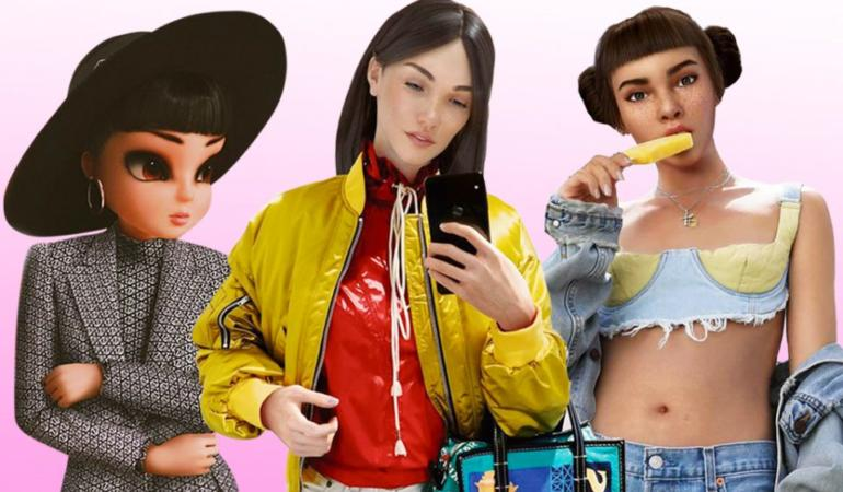 IN TREND. Noonoouri, primul fashion influencer digital