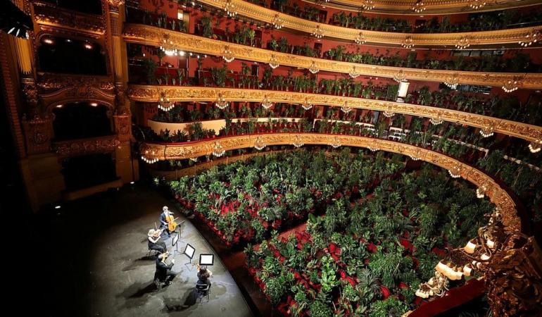 Concert pentru plante la Opera din Barcelona