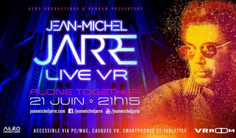 Jean-Michel Jarre susține astăziun concert live într-un univers virtual