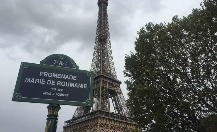 O stradă din Paris poartă numele Reginei Maria. Cea mai frumoasă suverană din Europa, la acea vreme