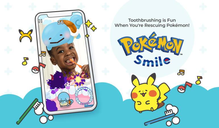 Pokémon Smile este noul joc pentru copiii de vârstă mică. Periuța de dinți pe post de sabie magică!