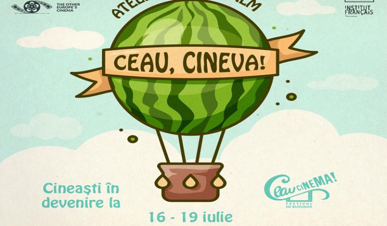 Ateliere de film pentru tineri, în cadrul Festivalului Ceau, Cinema!, la Timișoara