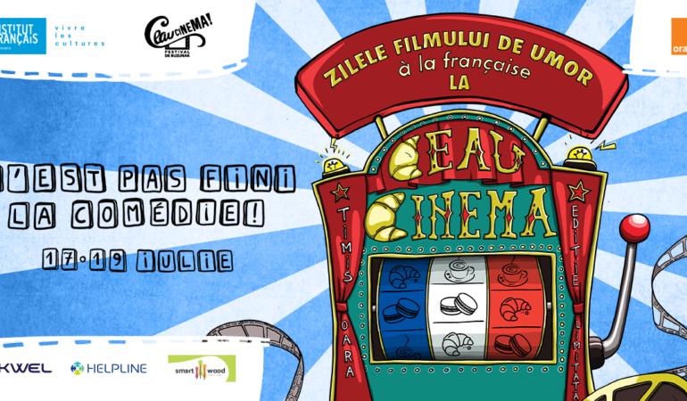 Comedia franceză se vede la Ceau, Cinema! Proiecție specială speciala pentru copii