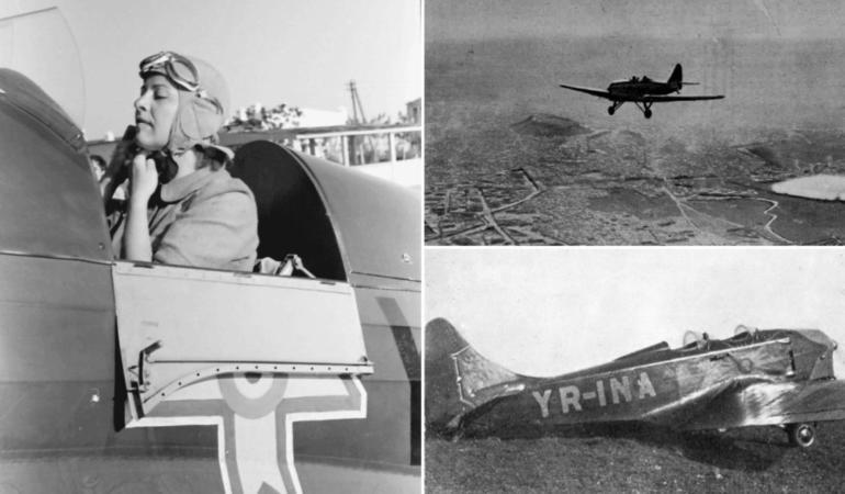 NEȘTIUTELE. Româncele care au schimbat lumea. Irina Burnaia, prima femeie-pilot care a traversat Carpaţii