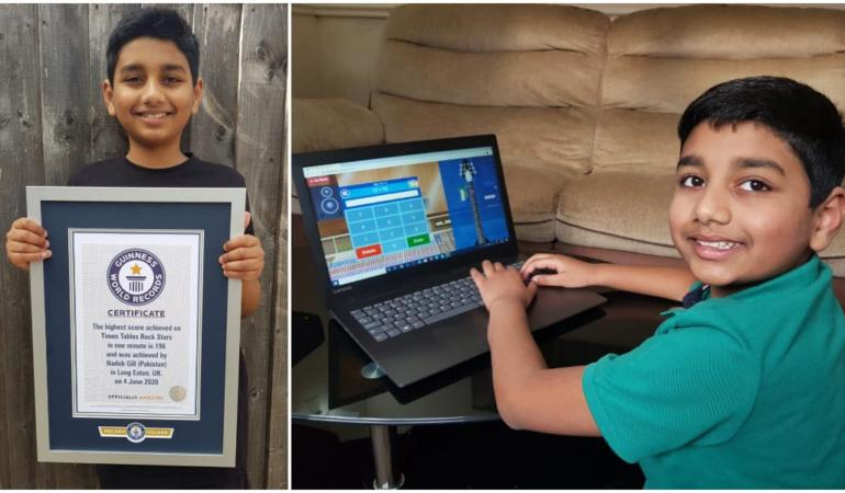 Un băiat de 10 ani a intrat în Cartea Recordurilor