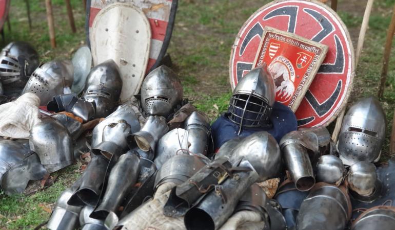 A început Festivalul Medieval al Castelului Huniade la Timișoara