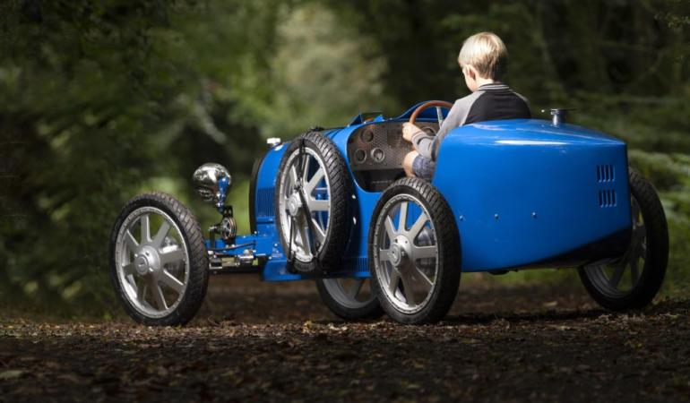 Bugatti Baby II. Mașină pentru copii și adolescenți