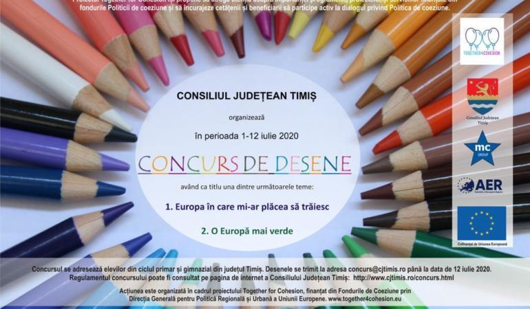 Concurs. Cum își doresc elevii să arate Uniunea Europeană?
