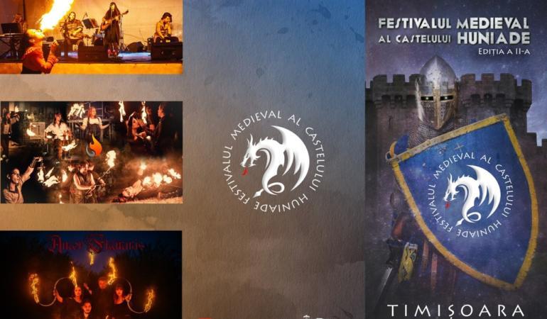 Festival Medieval la Castelul Huniade. Atmosfera Evului Mediu, la Timișoara