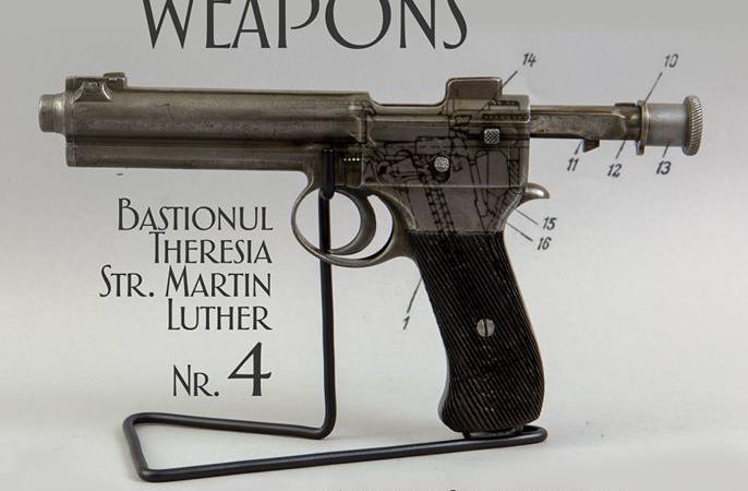 """Fețele noi ale armelor vechi"", expoziție la Bastionul Theresia"