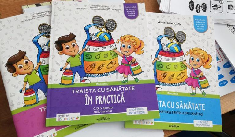 """""""Traista cu sănătate"""", program pentru combaterea obezității infantile"""