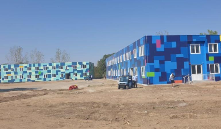 Doar trei luni pentru construcția unei școli