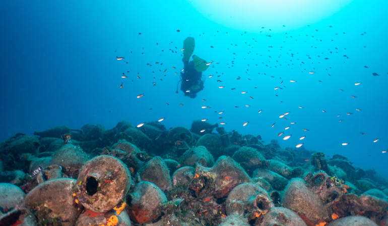 Primul muzeu subacvatic a fost inaugurat în Grecia