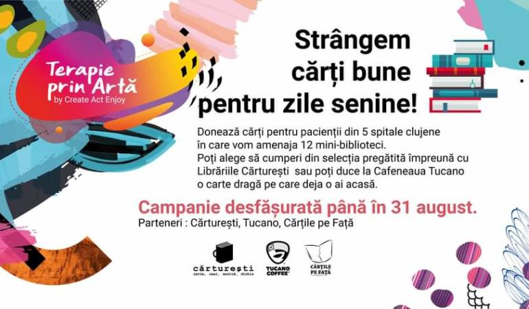 Cluj: Terapie prin artă –  Create.Act.Enjoy