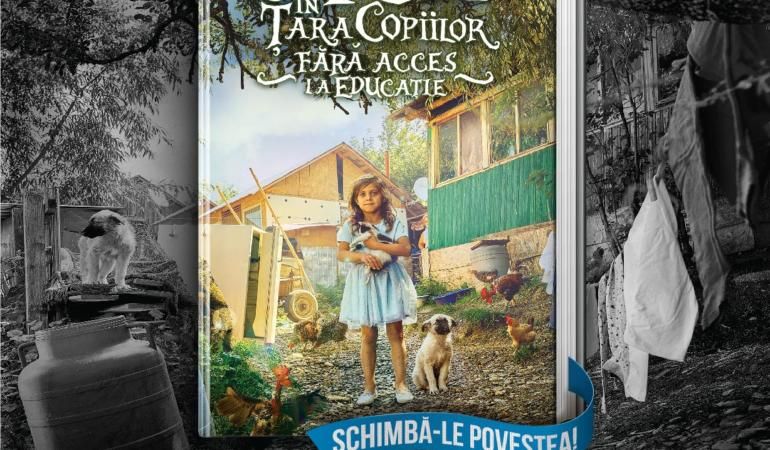 """Mesaje transformate în cărți. """"Schimbă-le povestea"""", o campanie dedicată copiilor defavorizați."""