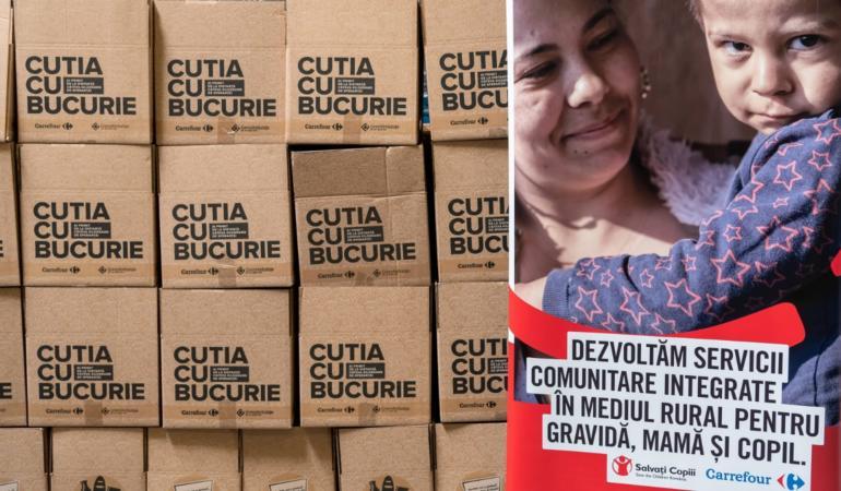 Cutia cu bucurie aduce fericire în familiile dezavantajate – Salvați Copiii România