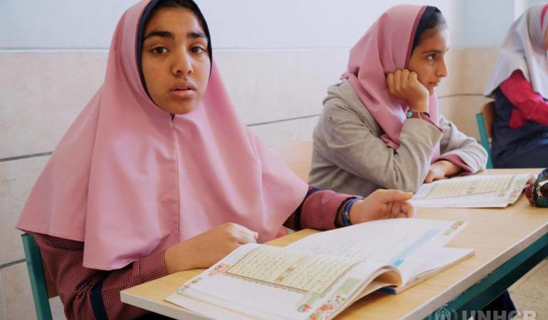 Coronavirusul, o amenințare gravă pentru educația refugiaților