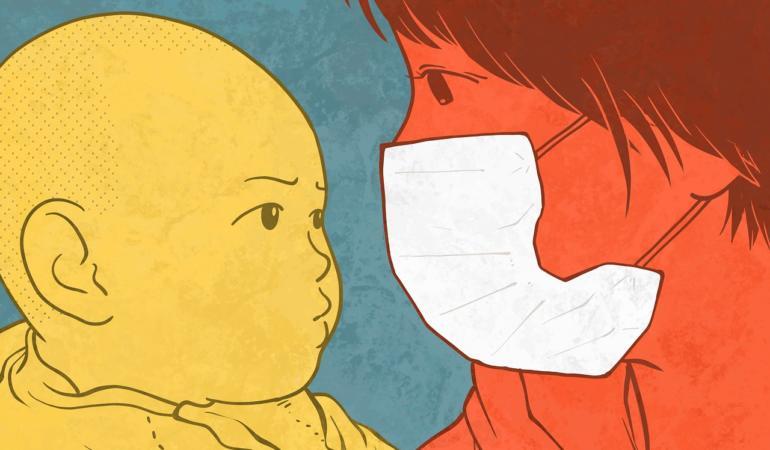 Copiii sunt în pericol din cauza pandemiei