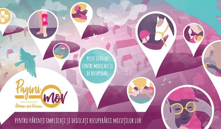 Pagini Mov - o bază de date de peste 1000 centre medicale și de recuperare