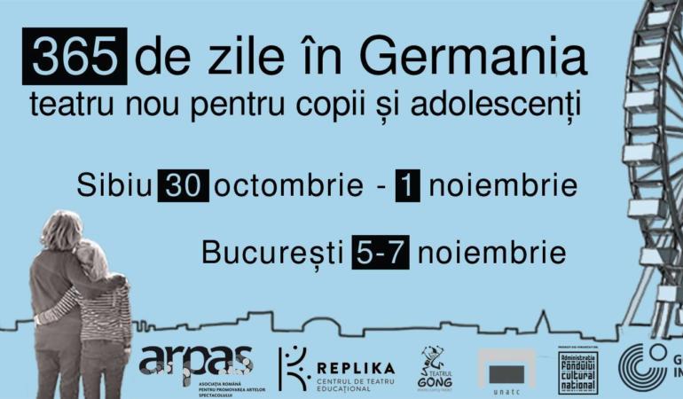 Teatru educațional la Sibiu: 365 de zile în Germania/365 Tage in Deutschland