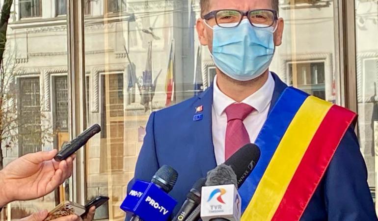 """Timișoara are, oficial, primar nou: """"Timișoara m-a făcut adult"""""""