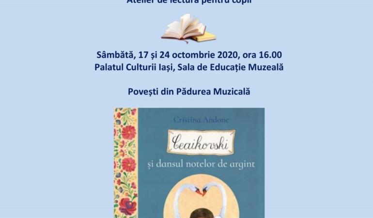 """Atelierele pentru copii """"În lumea poveștilor muzicale"""" continuă"""