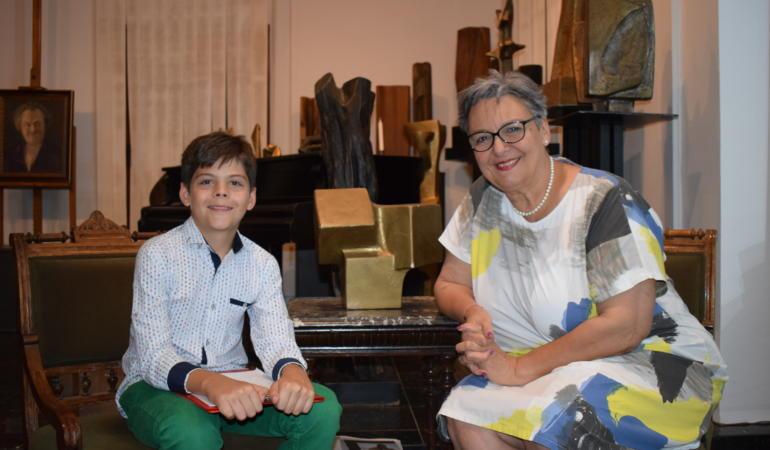 Când arta devine parte din viața unui om – Interviu cu președintele Fundației Triade, Sorina Jecza