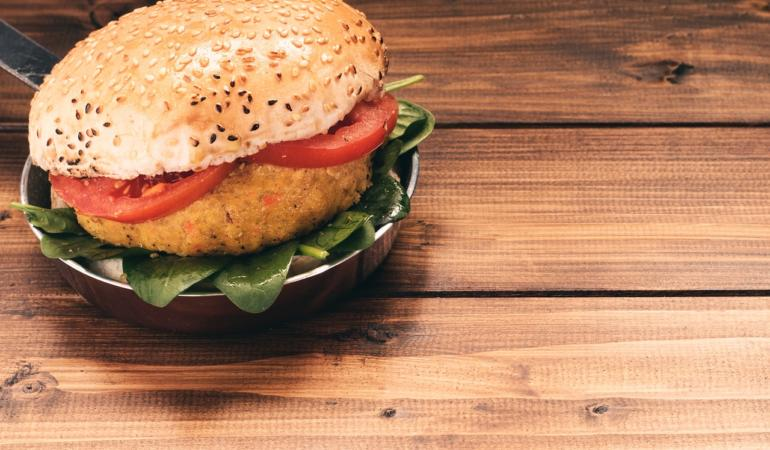 Rețete cochete – Burger vegan