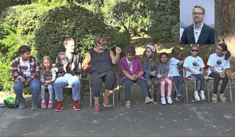 Dominic Fritz în dialog cu cei mici – Piti Show