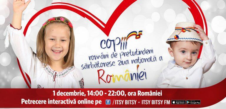 Copiii din lumea-ntreagă sărbătoresc Ziua României