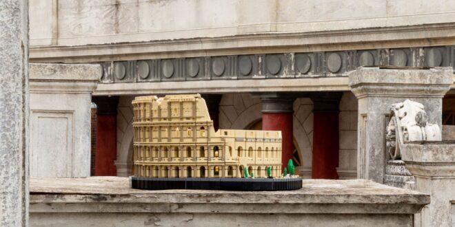 Colosseum Roman LEGO, cel mai mare set de cărămizi al producătorului