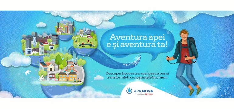 """""""Manualul apei"""", un program educațional online pentru copii"""