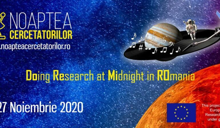 """""""Noaptea Cercetătorilor"""", un eveniment dedicat pasionaților de știință"""