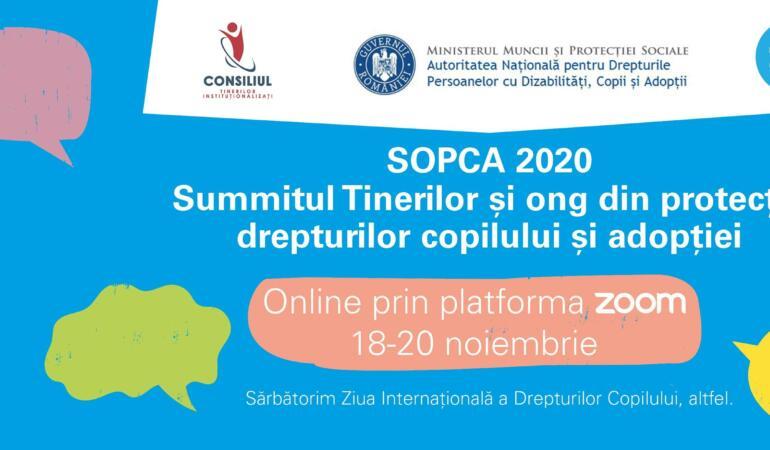 Summitul tinerilor și organizațiilor din protecția drepturilor copilului