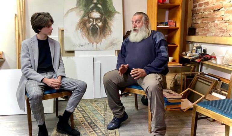 Voicu Dumitraș în dialog cu Valeriu Sepi, artistul de trei sferturi de veac. Un interviu profund