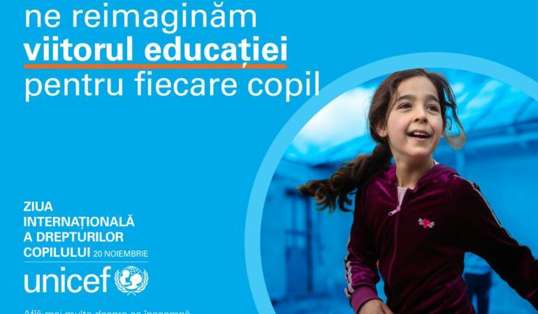 Acțiuni pentru prevenirea pierderii unei generații – UNICEF