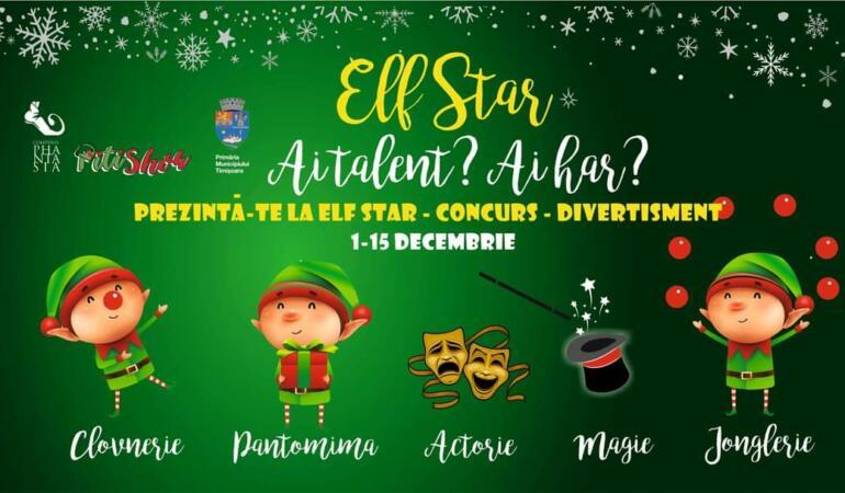 ELF STAR – Puteți fi elfii lui Moș Crăciun pentru 3 minute