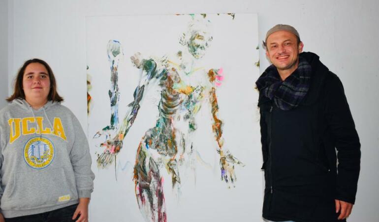 Interviu cu artistul vizual Cristian Sida – Cum să transmiți pasiunea pentru artă tinerilor