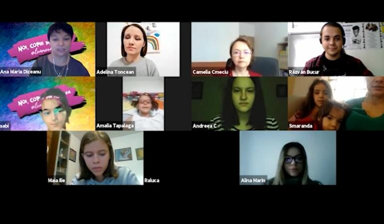 Copiii din România strâng bani pentru achiziționarea primului avion medical
