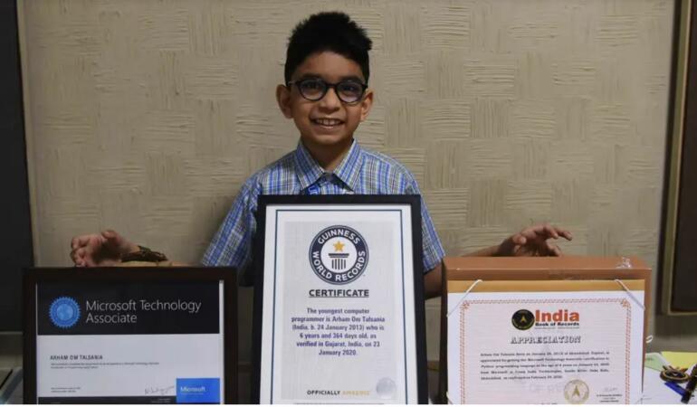 Un copil de șase ani a obținut titlul de Cel mai tânăr programator din lume