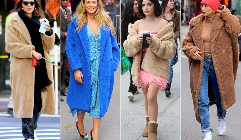 IN TREND: Teddy bear coat – haina – hit a momentului. Cine e vedeta autohtonă care a dat tonul modei?