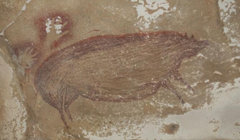S-a descoperit cea mai veche pictură rupestră din lume