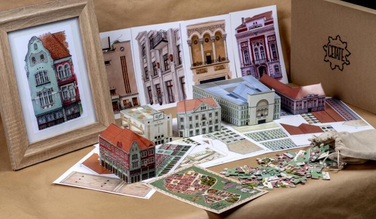 Puzzle Timișoara la cutie – modalitatea de a-ți vedea orașul prin ochii unui turist