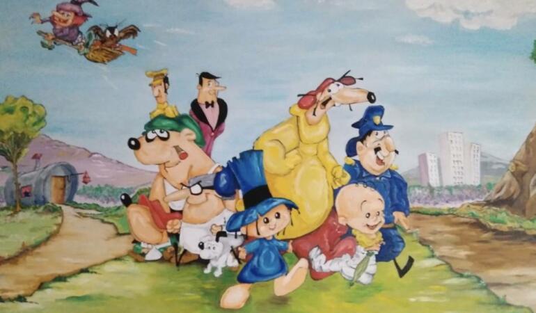 Artă din desene animate. Vi-l prezentăm pe Walt Disney latino-american.