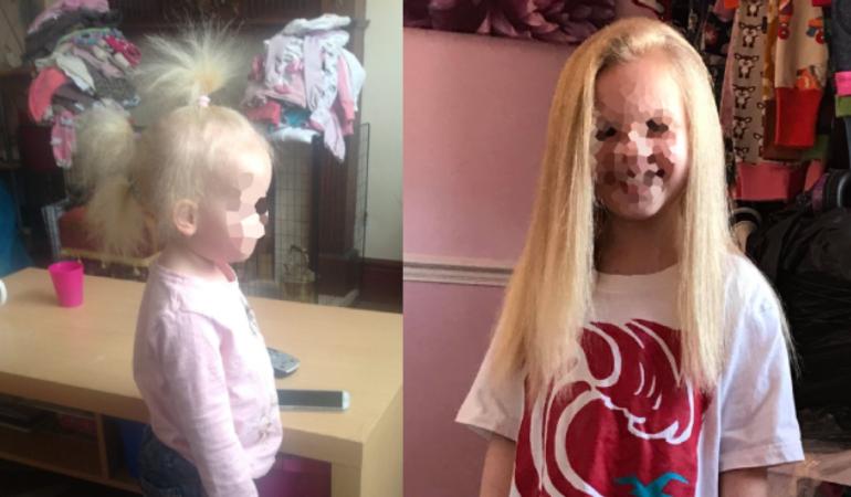 Cum ar fi să nu te piepteni nouă ani? Fetița cu cel mai ciudat păr